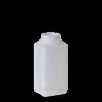 750 ml Vierkantflasche - natur - DIN 60 Gewinde