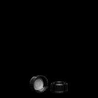 Schraubverschluss - schwarz - GL 25 - LDPE